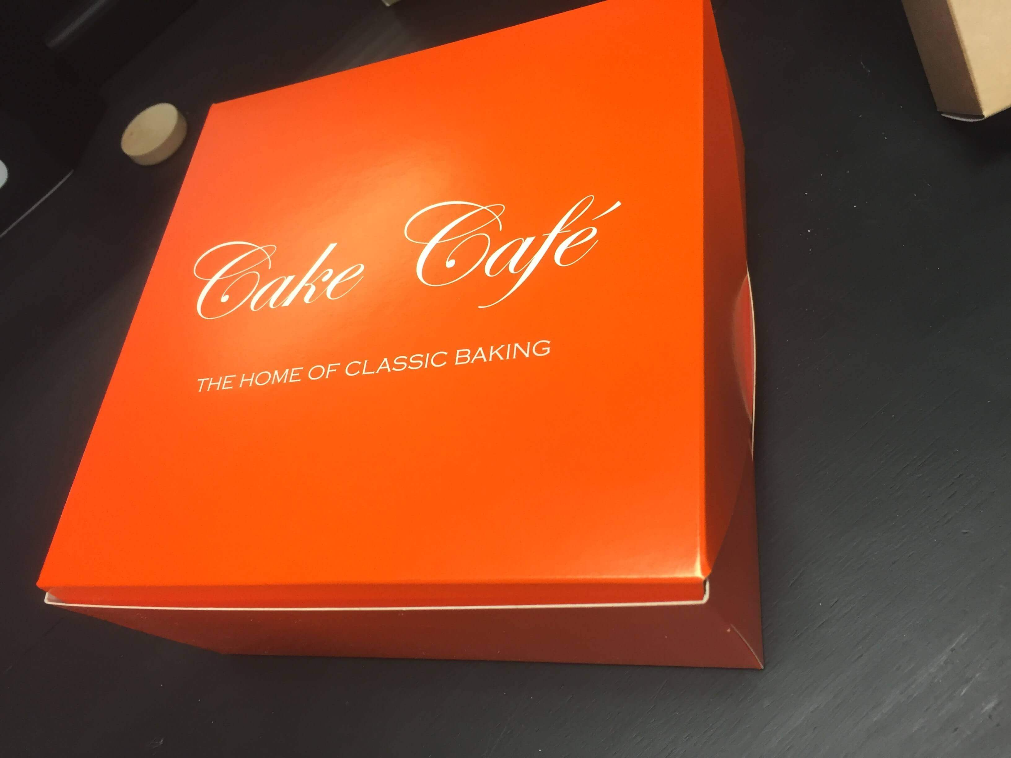 Branded Cake Box
