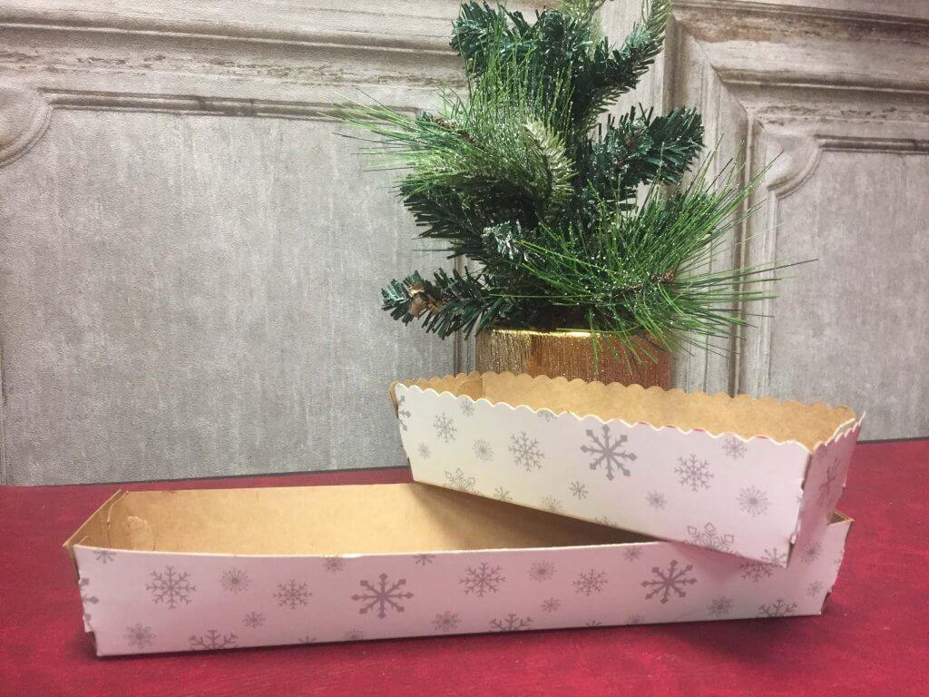 Christmas Snowflake Pattern Tray