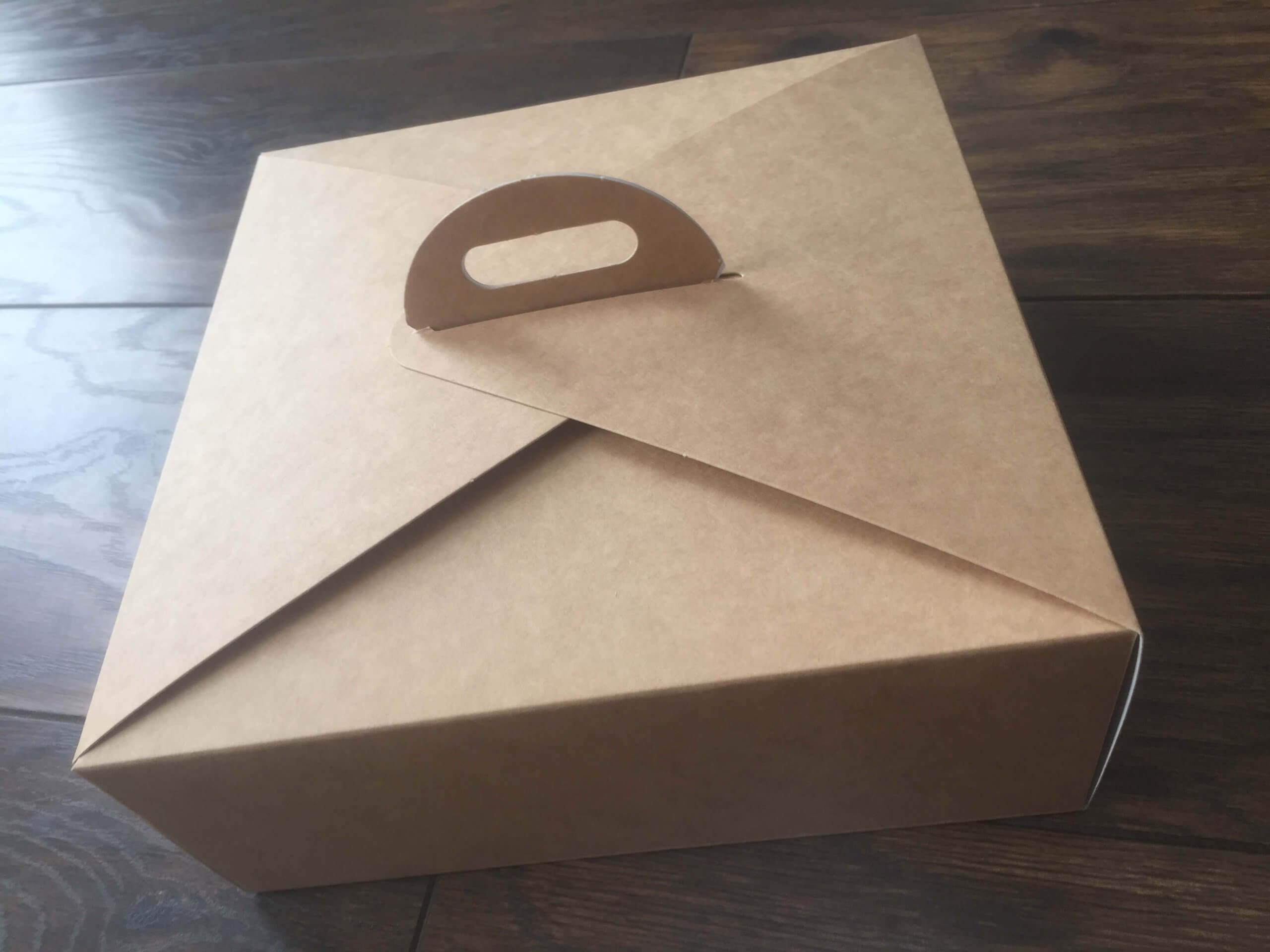 Take Away Box 220x220x85mm