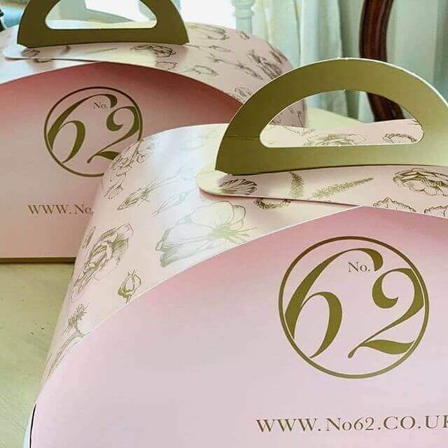 Branded Patisserie Box for No.62