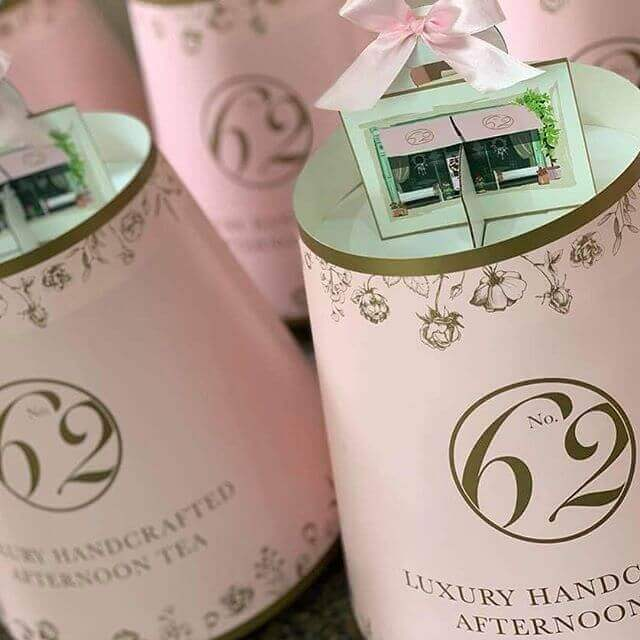 Branded 4 Tier Afternoon Tea Caddy's