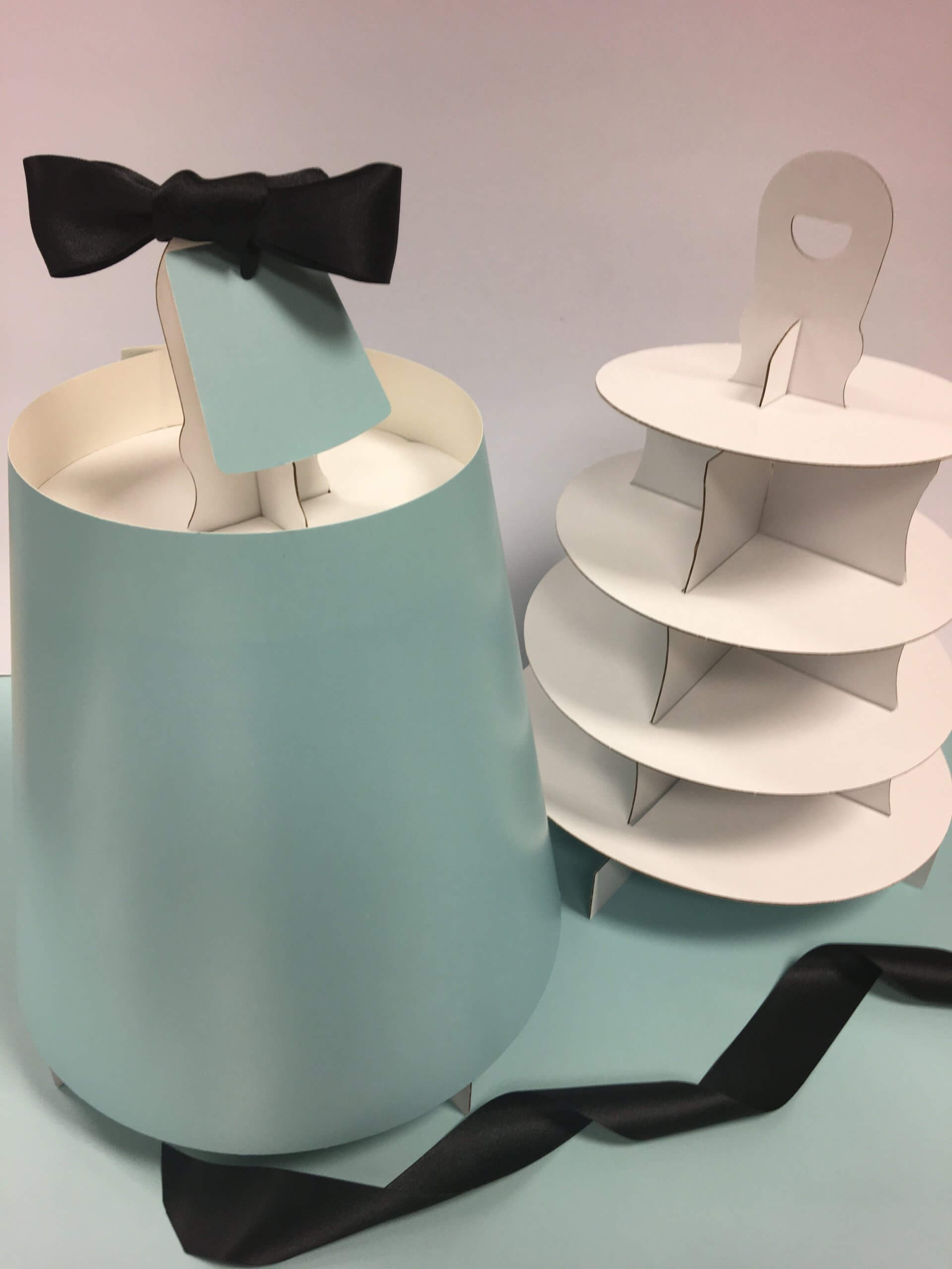 4 Tier Blue Caddy also available in 3 tier size