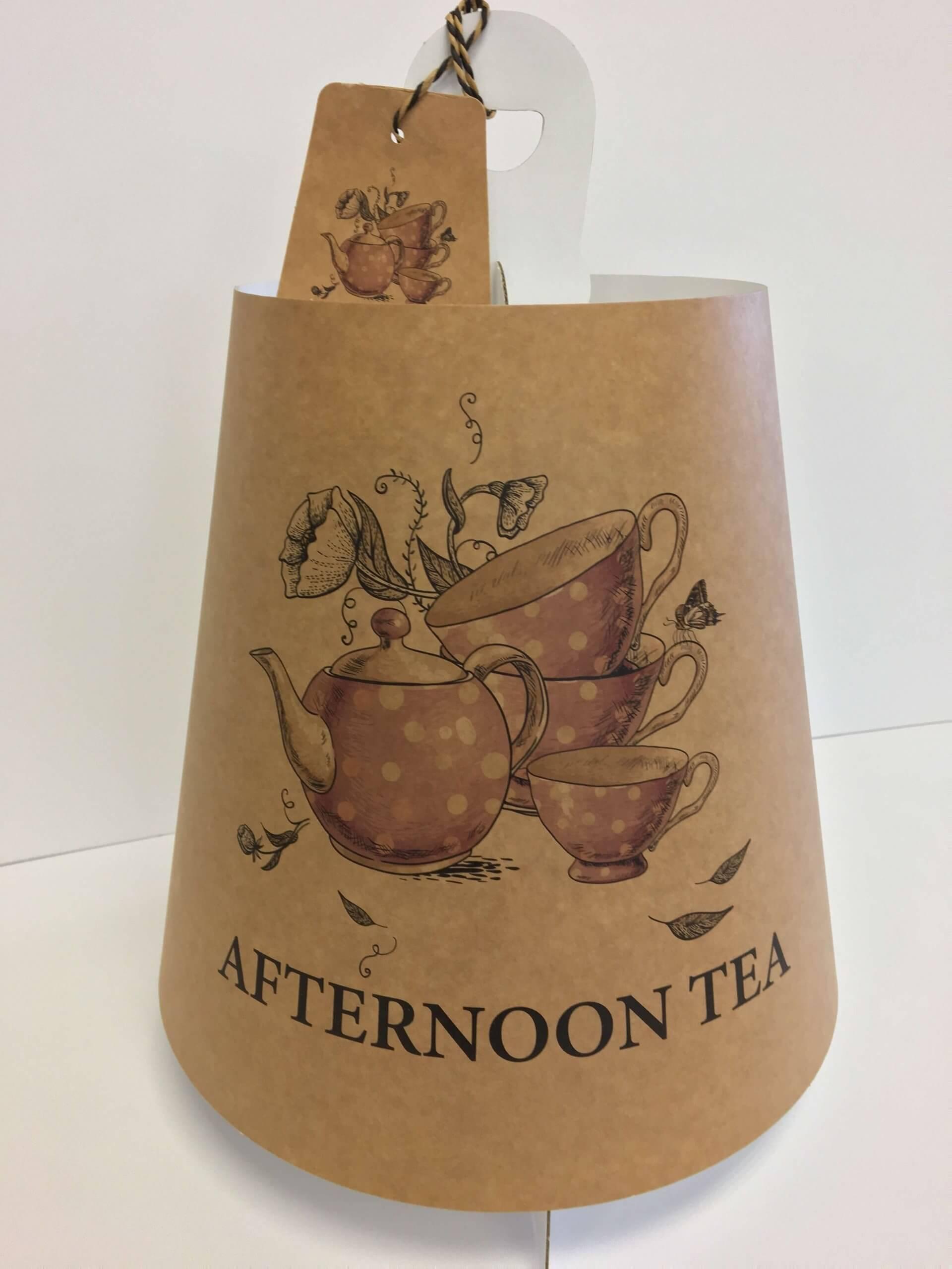 Generic Print Afternoon Tea 4 Tier Caddy