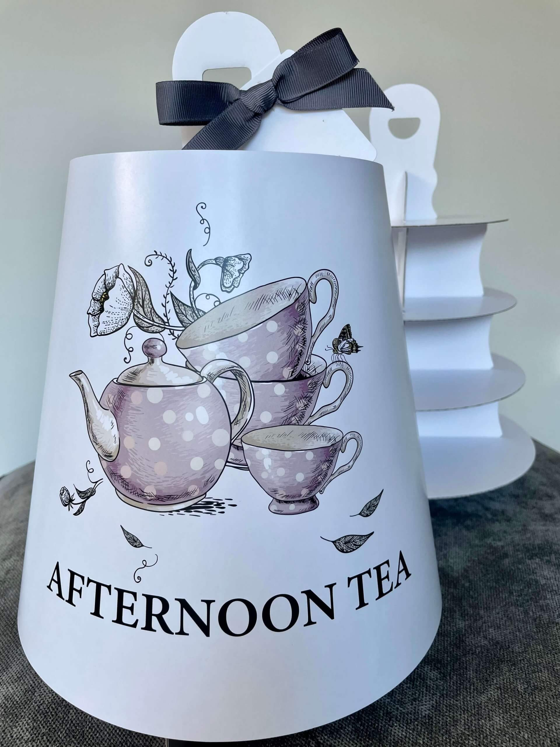 Generic Print 4 Tier Afternoon Tea
